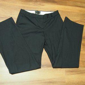 J.Crew Super 120's Black Suit Pants